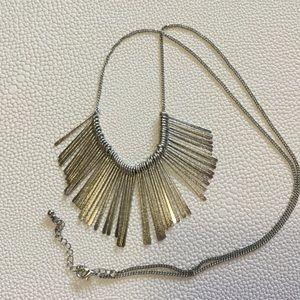 Cute Silver Tone Necklace